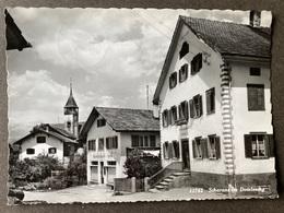 Scharans Im Domleschg/ Dorfansicht - GR Grisons