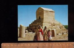 PASARGADE PASARGADES IRAN : Tombe Tombeau De Cyrus Le Grand The Great Tomb - Irán