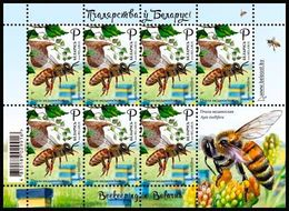 Belarus 2020 Sheetlet MNH Beekeeping In Belarus. Bees.  Bee Abeilles Abeille - Honeybees