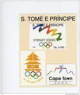 Sao Tome-1994-JO Sydney-Bloc-MI B314***MNH-Valeur 20 Euro - Verano 2000: Sydney