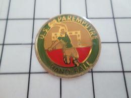 216b Pins Pin's / Rare & Belle Qualité THEME SPORTS / HANDBALL CLUB U.S (go Home) PAREMPUYRE - Pallamano