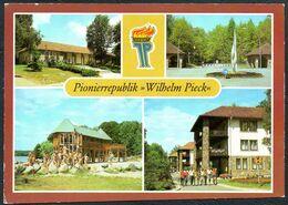 A3321 - Altenhof Pionierrepublik Wilhelm Pieck Wehrburg Eingang Speisesaal Junge Pioniere - Bild Und Heimat Reichenbach - Eberswalde