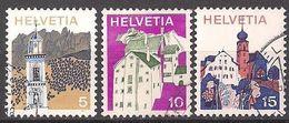 Schweiz  (1973)  Mi.Nr.  1003 - 1005  Gest. / Used  (8gk12) - Usati