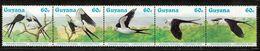 GUAYANA Nº 1266 AL 1270 MICHEL - Oiseaux