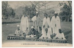 CPA - SÉNÉGAMBIE - NIGER -  Joueurs De Balafons - Niger