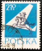 Polska - Poland - P2/10 - (°)used - 1958 - Michel Nr. 1045 - 400 Jaar Poolse Post - Chevaux