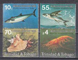 Tr_ Trinidad Und Tobago 1983 - Mi.Nr. 476 - 478 - Postfrisch MNH - Tiere Animals Fische Fishes - Poissons