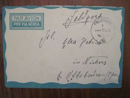 Feldpost 1942 Feldpostnummer 36406 Batterie Nach Niebers 2 WK Allemagne Germany War WW2 Dt Reich Air Mail Luftpost - Deutschland