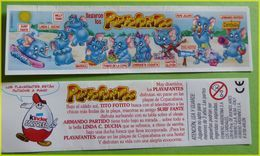 KINDER BPZ SERIE ELEPHANTS A LA PLAGE ARGENTINE 2001 - Istruzioni