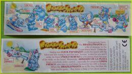 KINDER BPZ SERIE ELEPHANTS A LA PLAGE ROYAUME UNI 1999 - Istruzioni
