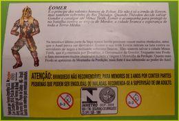 BPZ SERIE SEIGNEUR DES ANNEAUX BRESIL   2004  1 BPZ AU CHOIX NE PAS ENCHERIR - Istruzioni