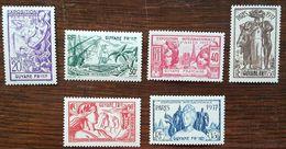 Guyane - YT N°143 à 148 - Exposition Internationale De Paris - 1937 - Neufs - Neufs
