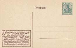 Allemagne Entier Postal Privé Breslau 1913 - Ganzsachen