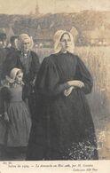 A-20-1015 : SALON DE PARIS. LE DIMANCHE EN HOLLANDE  PAR H. GUINIER - Peintures & Tableaux