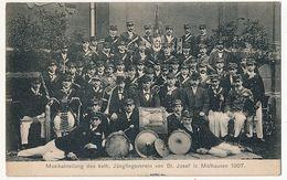 CPA - MULHOUSE (Haut-Rhin) - Musique De La Jeunesse De St Joseph, 1907 - Mulhouse