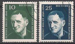 Deutschland (1957)  Mi.Nr.  593 + 594  Gest. / Used  (8gk31) - DDR