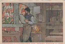 LIEGE / DITEUR BENARD / CARTE PUBLICITAIRE - Liège