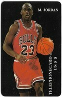 USA - Telephonecard - Basketball Series - Michael Jordan #1 - Prepaid $5, Fake, 2.000ex - Ohne Zuordnung