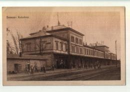 ZEMUN, SEMLIN, KOLODVOR, ZELJEZNICKA STANICA, BAHNHOF,  LA GARE, TRAIN STATION - Serbie