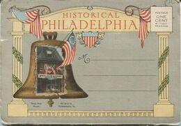 Carnet - PHILADELPHIA - HISTORICAL ... - Lot De 18 Vues - COMPLET - Philadelphia