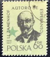Polska - Poland - P2/11 - (°)used - 1959 - Michel Nr. 1111 - Interantionaal Esperanto Congres - Zamenhof - 1944-.... Republic