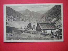 CPA  WORMSATAL   VOYAGEE 1916  CACHET - France