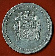 NECESSITE / VILLE DE GEX ( AIN ) /10 C./ ALU / 1919 - Monétaires / De Nécessité