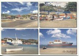 CPM - ILE RODRIGUES - Multivues - Lot De 2 Vues (format 17x12) - Mauritius