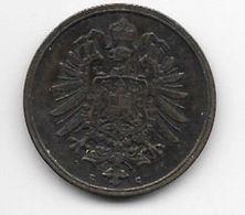 *empire 2 Pfennig 1875 C   Km 2  Vf+ - [ 2] 1871-1918: Deutsches Kaiserreich