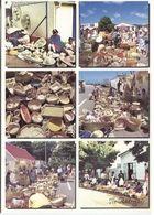 CPM - ILE RODRIGUES - Multivues - Scènes De MARCHE (format 17x12) - Mauritius