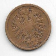 *empire 2 Pfennig 1876 C   Km 2  Fr+ - [ 2] 1871-1918: Deutsches Kaiserreich