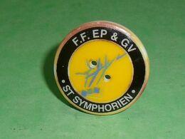 Fèves / Autres / Divers : F.F. EP & GV , St Symphorien , Perso  TB4N - Santons/Fèves