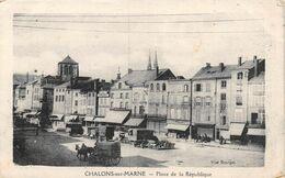 A-20-1051 : CHALONS SUR MARNE. PLACE DE LA REPUBLIQUE. - Châlons-sur-Marne
