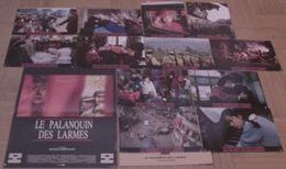 AFFICHE CINEMA ORIGINALE FILM LE PALANQUIN DES LARMES + 12 PHOTOS EXPLOITATION DORFMANN 1988 CHINE - Affiches & Posters