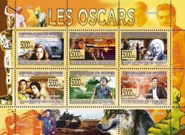 Guinea 2008, Cinema, Oscars, Mozart, Elicopter, Insect, 6val In BF - Hubschrauber