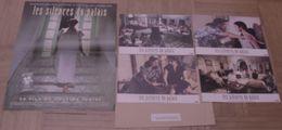 AFFICHE CINEMA ORIGINALE FILM LES SILENCES DU PALAIS + 4 PHOTOS EXPLOITATION TLATLI TUNISIE 1994 TBE - Affiches & Posters