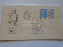 ZA301.2 Hungary FDC  Esze Tamás  1666-1708 - Budapest 1966  Rákóczi Szabadságharc - FDC