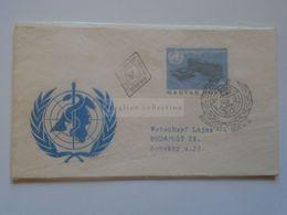 ZA301.5 Hungary FDC  1966 Egészségügyi Világszervezet  WHO - FDC