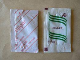 Déstockage (Provenance ?), Medstar, Oskar, 2 Sachets Vides, TB. - Sugars