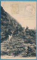 BELLE-ILE-EN-MER - Escalier Conduisant à La Grotte De L'Apothicairerie (animation) - Circulé 1928 - Belle Ile En Mer