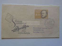 ZA301.11 Hungary FDC  1966    Széchenyi  István  1791-1860 - FDC