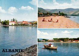 1 AK Albanien * Ansichten Von Pogradec - Eine Kleinstadt Im Südosten Des Landes Am Ohridsee * - Albanië