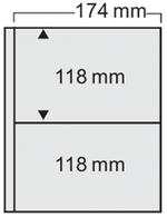 Safe Compact Ergänzungsblätter Sandfarbene Einlagen 7874 (VE) 10 Blätter Neu ( - Reliures Seules