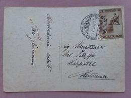 REGNO - Marcofilia - Giornata Del Francobollo Estiva - Rimini 1943 + Spese Postali - Marcofilie