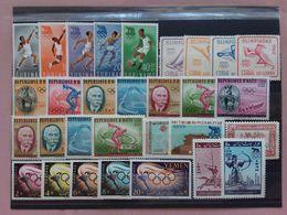 SPORT - Olimpiadi Roma 1960 - 8 Serie Complete Nuove ** (1 Valore Dente Corto) + Spese Postali - Stamps