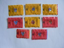 Déstockage FRANCE,  7 Papiers De Sucre, Joyeuses Pâques, TB. - Sugars