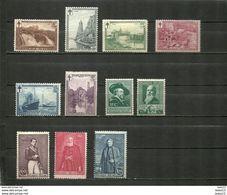 (06.07) BELGIE *  Nrs 293/98-299/00 EN 302/04 CW 54.75 - Belgique