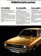Feuillet De Magazine Audi  80 LS - Cars