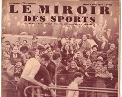 LE MIROIR DES SPORTS 934 1937 EVREUX RAMBOUILLET MAISONS LAFITTE BAYONNE BRUXELLES ESBLY SESTRIERES PERPIGNAN TARBES - Livres, BD, Revues