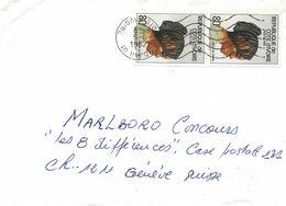 127 - 62 - Enveloppe Envoyée D'Abidjan En Suisse 1982 - Côte D'Ivoire (1960-...)